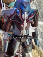 Project Zed full set cosplay costume with leds by aishicosplay