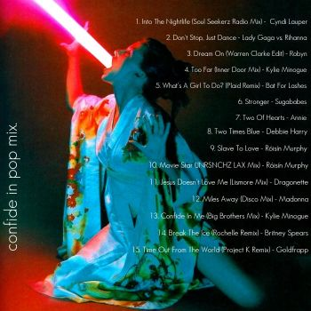confide in pop. -  back cover by Julio-Cesar