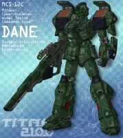 DANE - sniper commando (for T.I.T.A.N. 2100) by Grebo-Guru