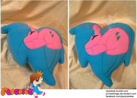 G1 Firefly Heart Pillow by PrinceOfRage