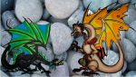 Thar Be Dragons by magefeathers