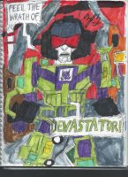 Feel the Wrath of Devastator by GoroKai