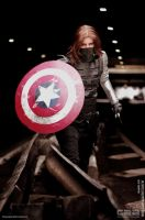 COSPLAY - Winter Soldier CAACOSPLAY XIV by MarineOrthodox
