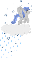 Notes That Fall Gently Like Rain by Atmospark