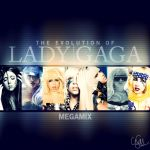 The Evolution of Lady Gaga by cezuh0425