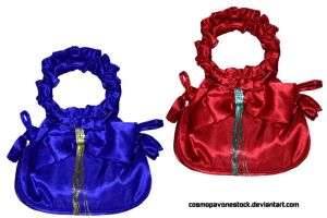 Bag red and blue by cosmopavonestock