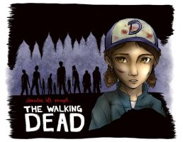 Clementine is alone. (TellTale's The Walking Dead) by miracaro