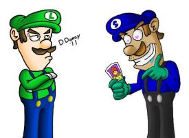 Luigi and Sandro 2 by Dee-Artist