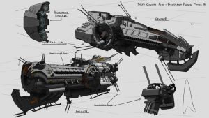 Iron Ships Concepts by residentcrow7