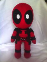 Deadpool Plushie by Keytarist