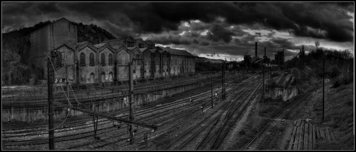 Industrial station Bw by Bestarns