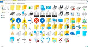 WINDOWS 10 BUILD 10056 ICON PACK | IMAGERES.DLL by GTAGAME