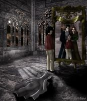 Harry and the Mirror of Erised by Harry-Potter-Spain