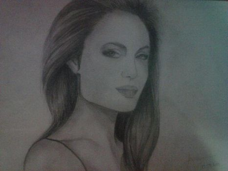 Angelina Jolie by RukyStyle25