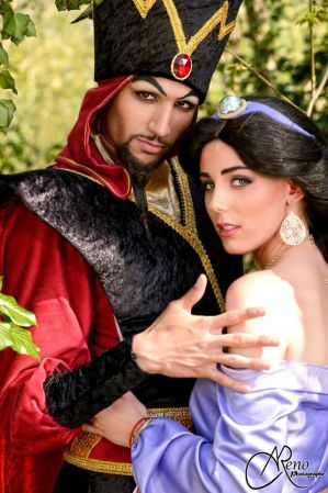 Jafar cosplay from Aladdin by Aokiji13
