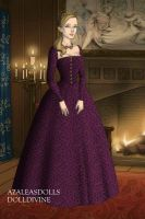 Catherine Parr, Purple Gown by daretoswim7709