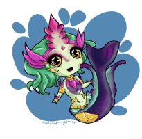 Chibi Nami by pixelated-nightmare