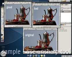 gimp-unsharpmask tool by tom45
