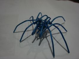 Blue Spider by me-Kail