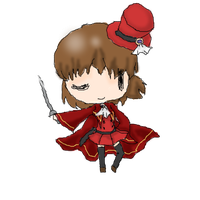 Final Hetare ~Red Mage~ by Pixel-777
