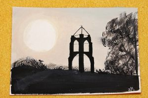 Thing 2, watercolour-postcard. by Juuulz
