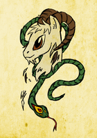 Year of the Snake by QuirkyWallace