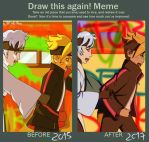 Draw This Again Meme! - Boruto and Mitsuki by Eleanor-Devil