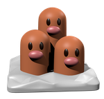 Dugtrio   by ChadRocco