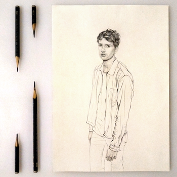 Sketch. Luke Newberry. by Artist-MMR