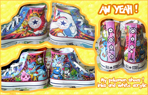 My Pokemon Shoes