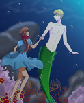 :Contest Entry: Mermaid!England X Seychelles by MochiMaiden