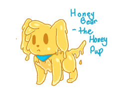 Honey Bear The Honey Pup by Ask-Cherry-Poodle