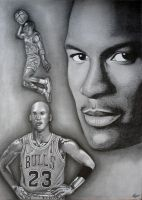 Michael Jordan by MLBOA