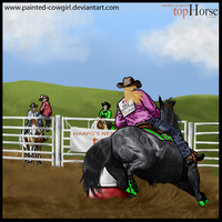Spanky - HARPG's Next Top Horse 2012. Phase 2 by painted-cowgirl