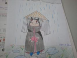 Itachi in the rain... by DeerOfTheGirls