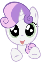 Sweetie Belle vector by SoupInsanity