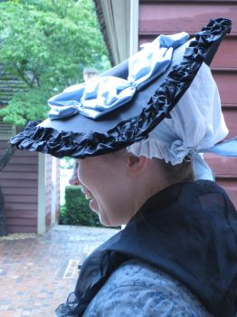 1772 Hat - Side View by Goldenspring