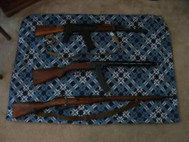 My small gun collection by Tora044