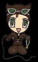 Chibi Catwoman by batgirl84 by JLUClub