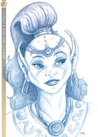 Jinn Sketch by RCSIPublishing