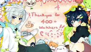 Thankyou so muchuu!! by apple-kuun