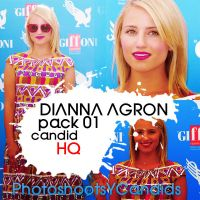 Pack 07 - Dianna Agron by HQPacks