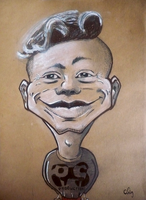Caricature of one dude by fantoNN