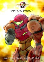 samus is back by lazytigerart