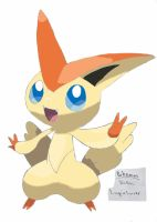 Pokemon - Victini by Adhir1995