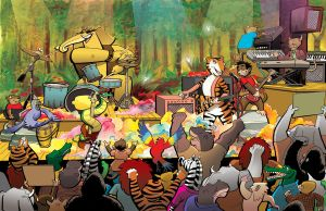 Sam and the Jungle Band pages 45 and 46 by DanDougherty