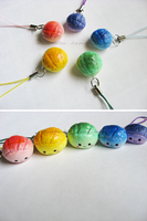 Rainbow Bread Charms by stereometric