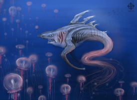 the jellyfishmaster by Opaca