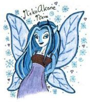Nieve Anthro Faeie by WiccanWT