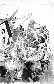 FEAR ITSELF HOMEFRONT2 Pg6 BW by mikemayhew